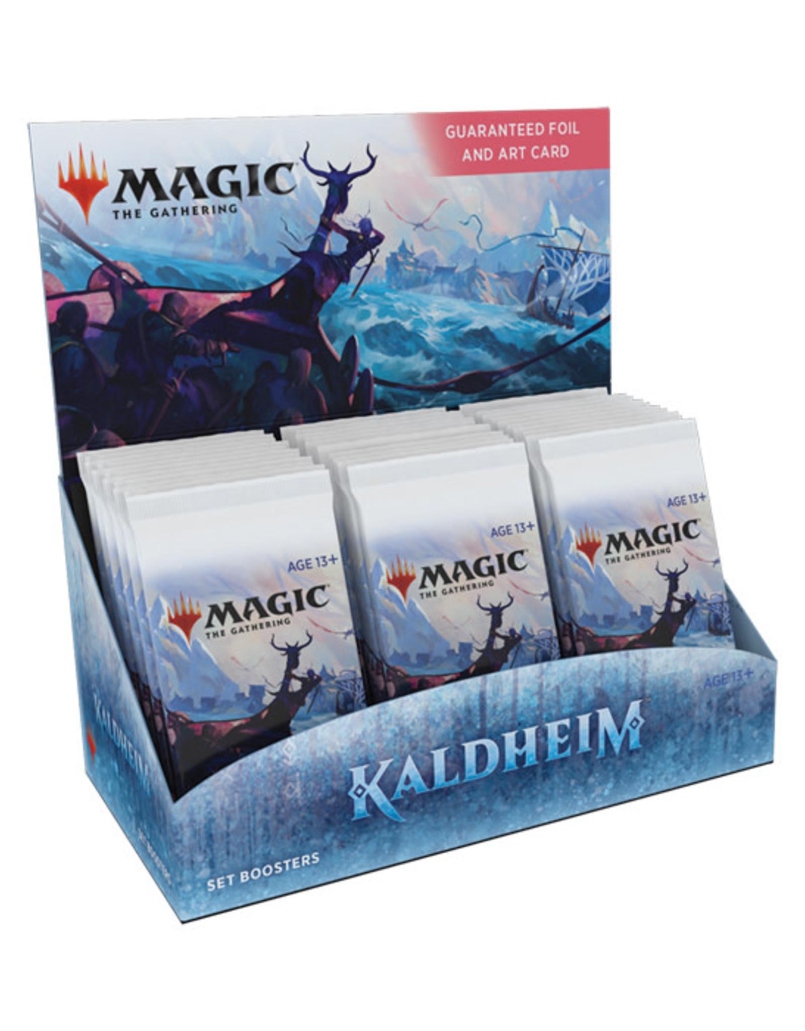 Magic: The Gathering Magic: The Gathering - Kaldheim - Set Booster Box