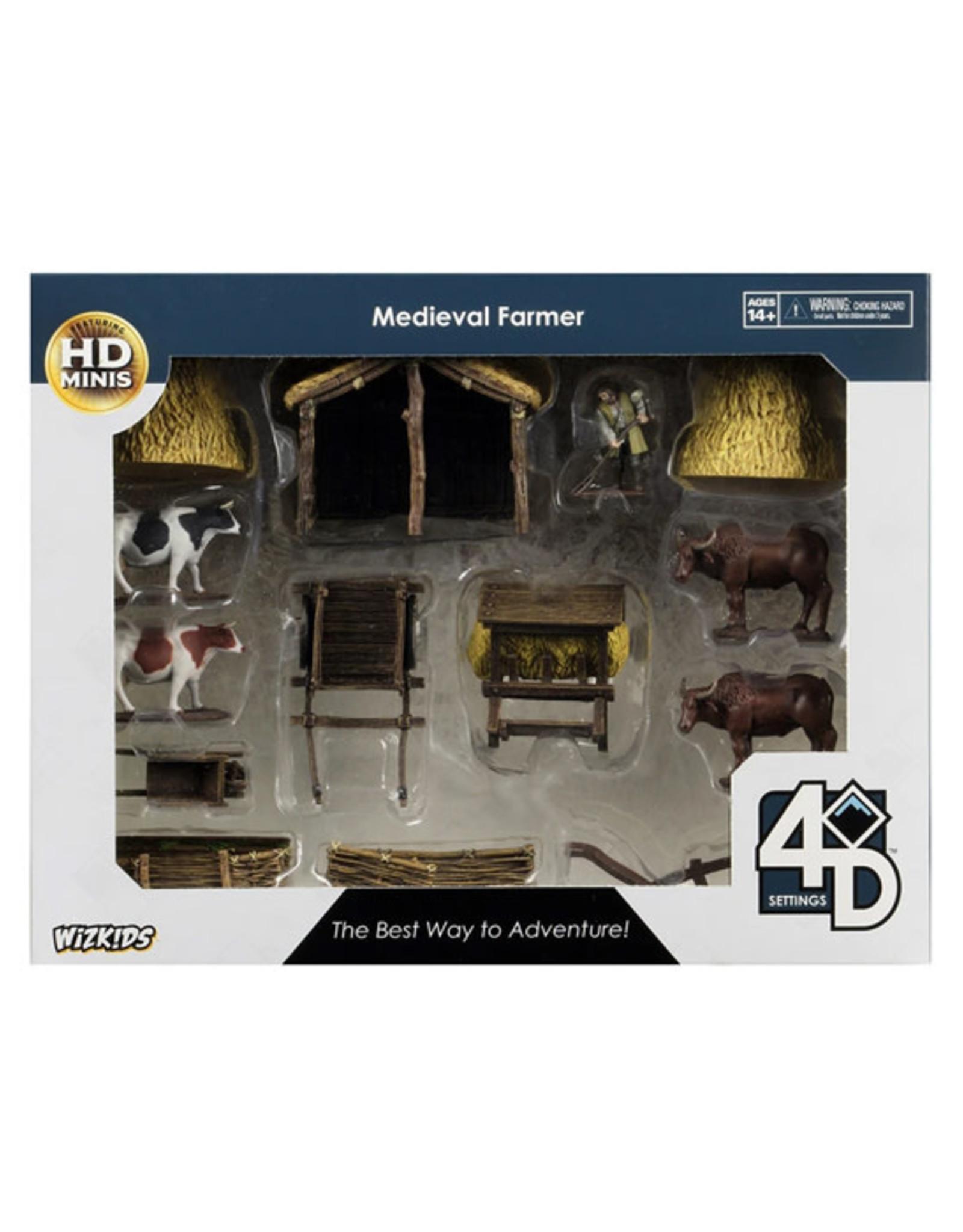 WizKids WizKids: 4D Settings - Medieval Farmer