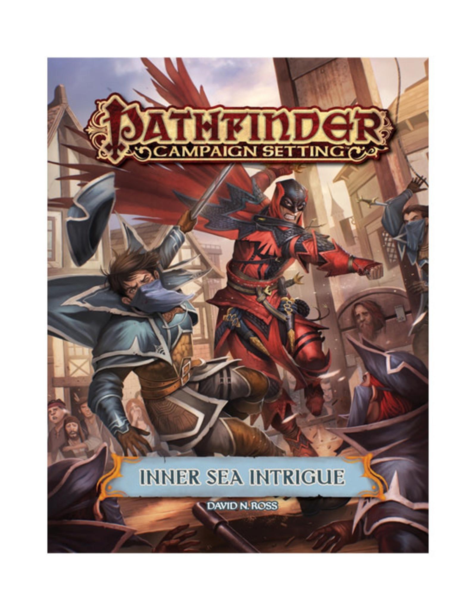 Pathfinder Pathfinder: Campaign Setting - Inner Sea Intrigue