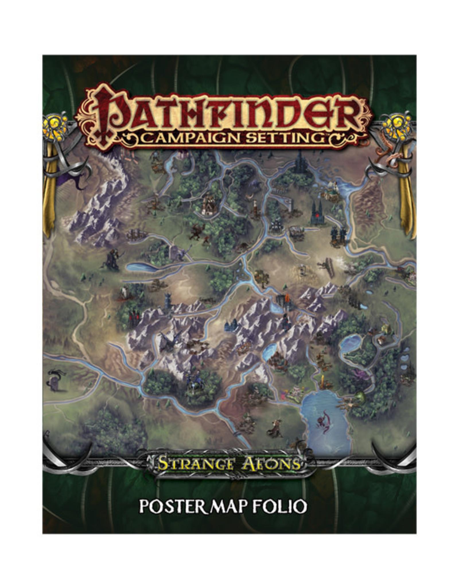 Pathfinder Pathfinder: Campaign Setting - Strange Aeons - Poster Map Folio