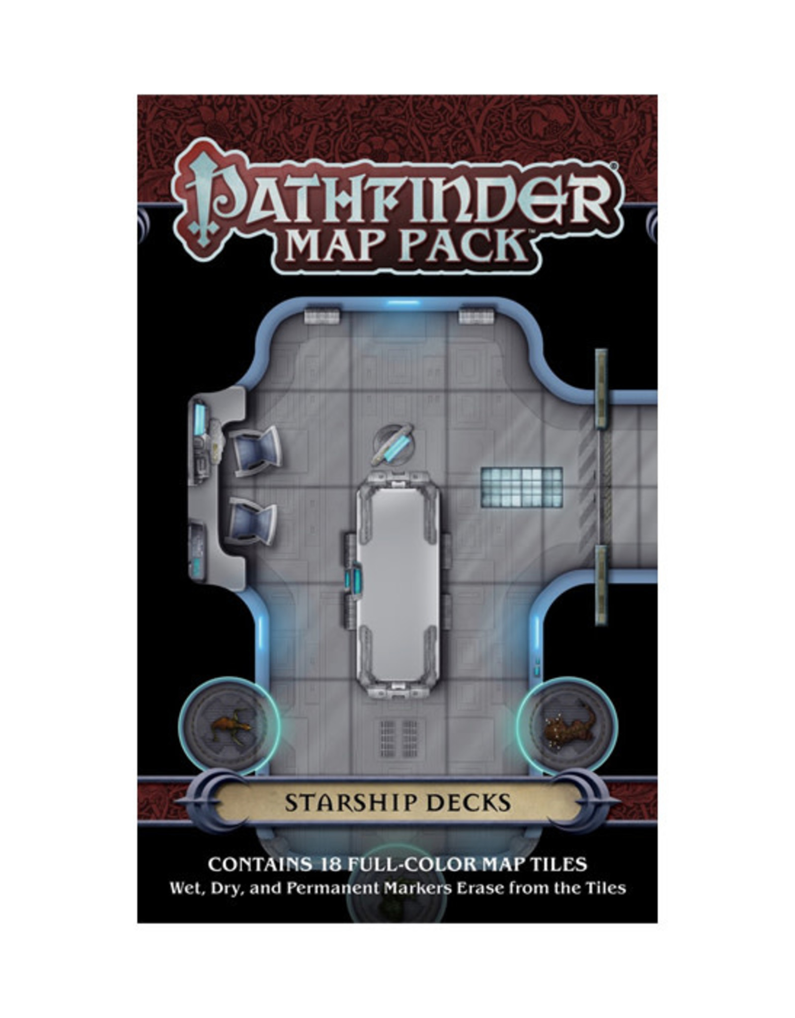 Pathfinder Pathfinder: Map Pack - Starship Decks
