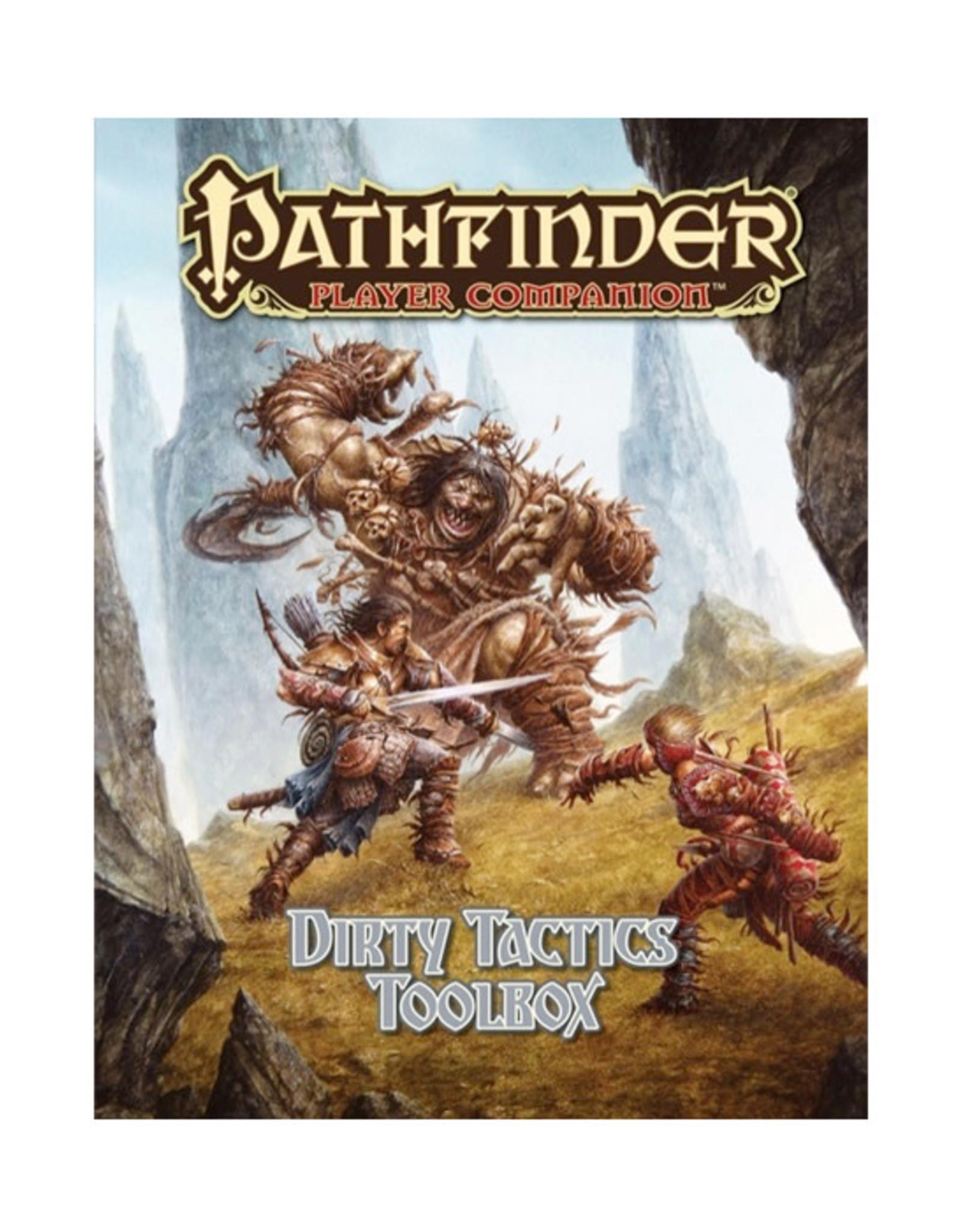 Pathfinder Pathfinder: Player Companion - Dirty Tactics Toolbox