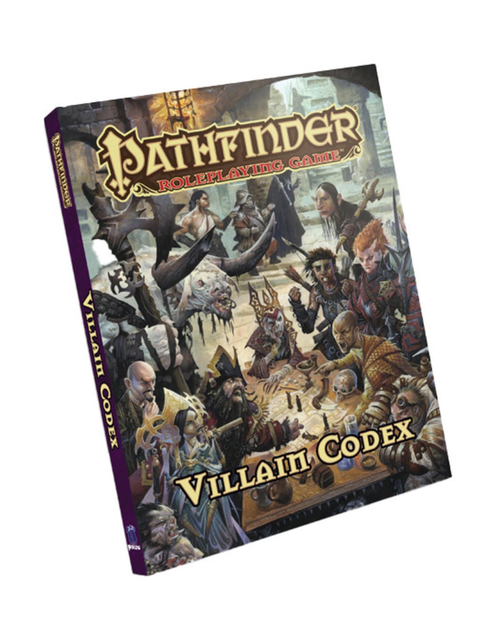 Pathfinder Pathfinder: Villain Codex