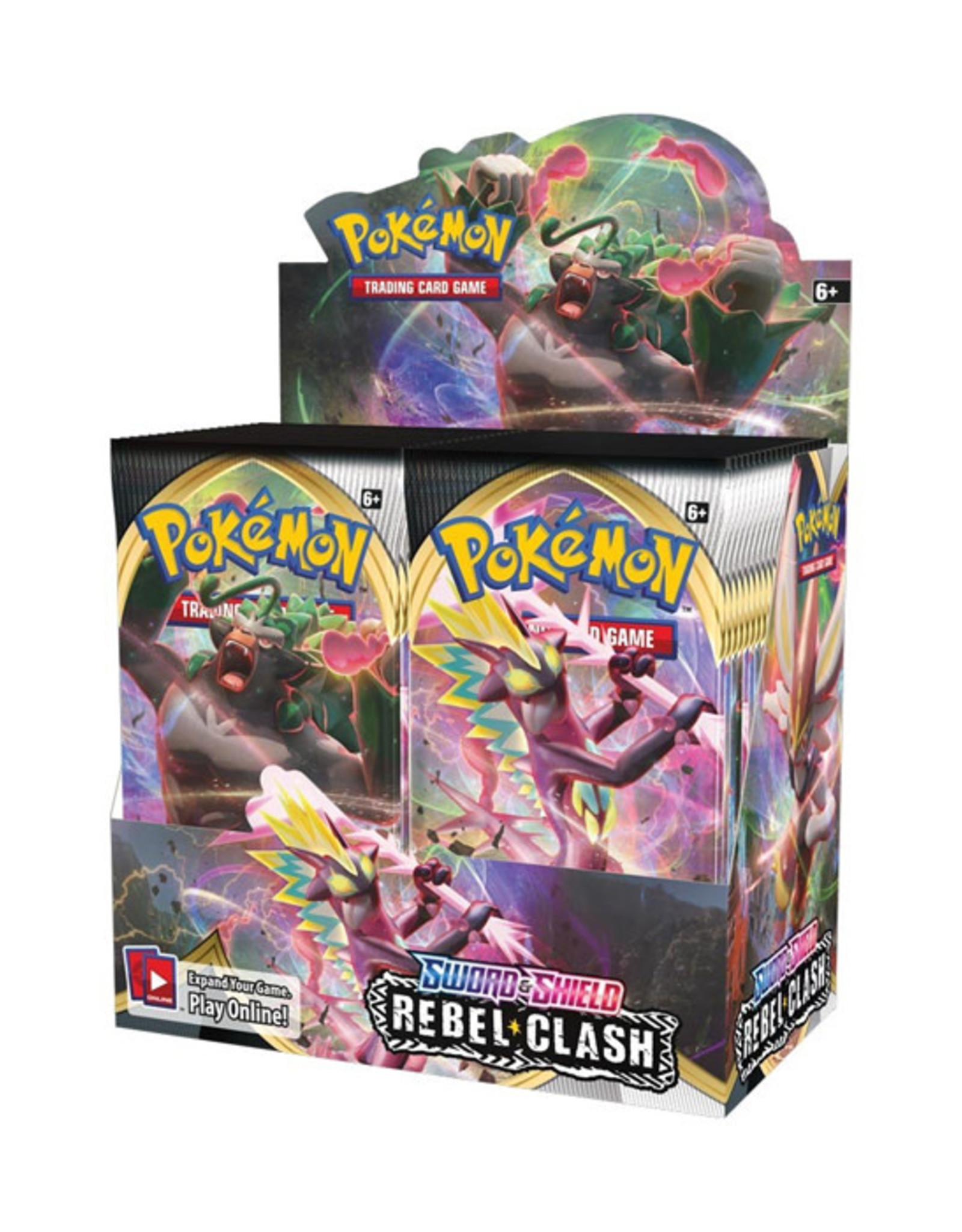 Pokemon Pokemon: Sword & Shield 2 - Rebel Clash - Booster Box