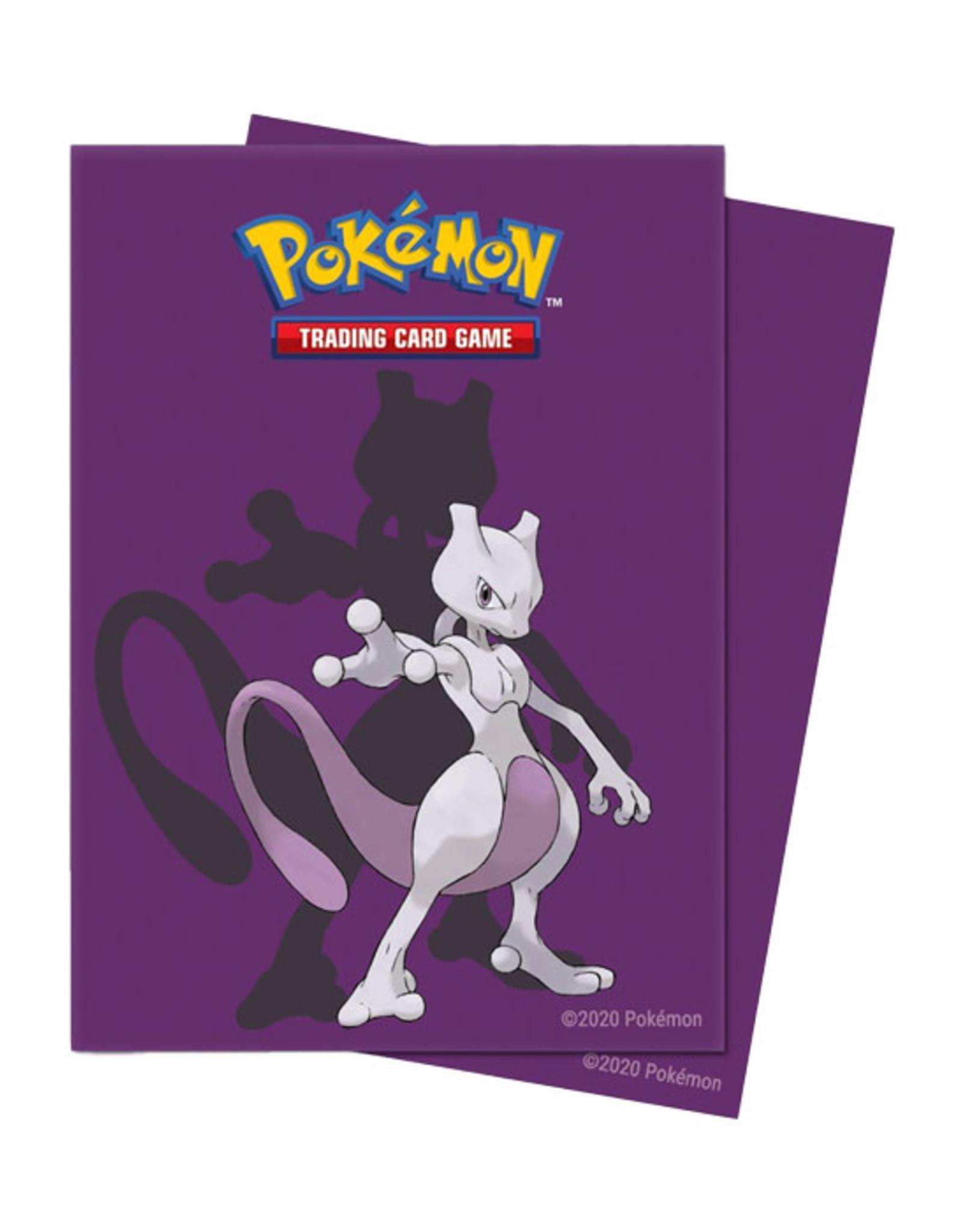 Ultra Pro Ultra Pro: Sleeves - Standard - Pokemon - Mewtwo (65)