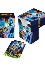 Ultra Pro Ultra Pro: Deck Box - Dragon Ball Super - Goku, Vegeta, and Broly