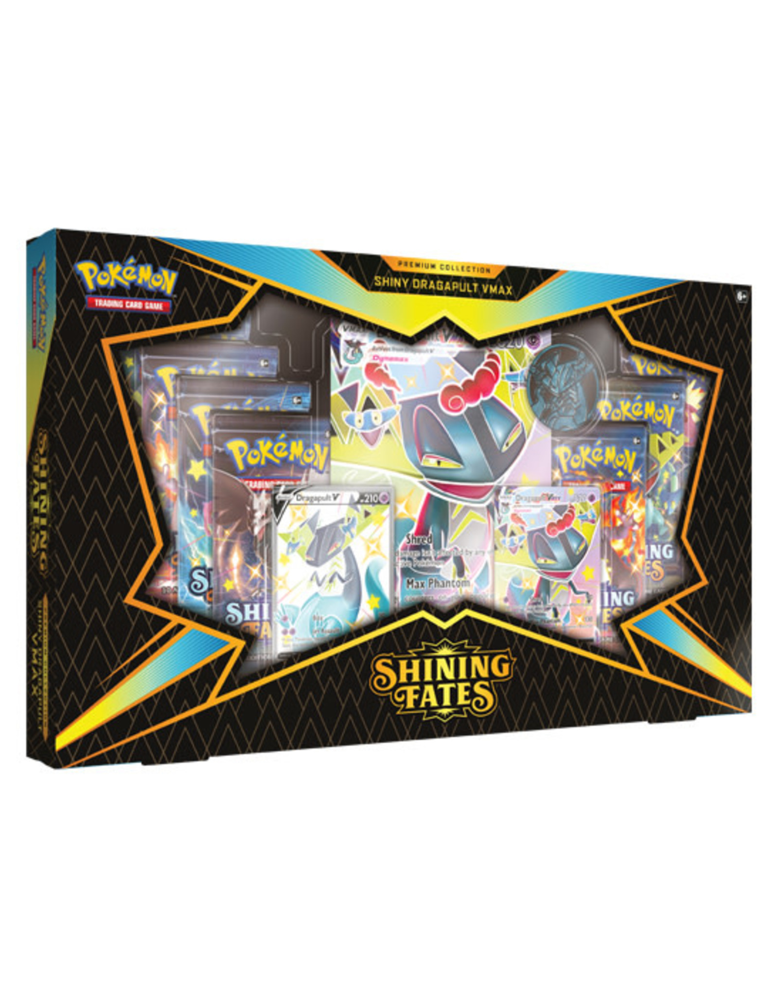 Pokemon Pokemon: Shining Fates - Premium Collection - Shiny Dragapult VMAX