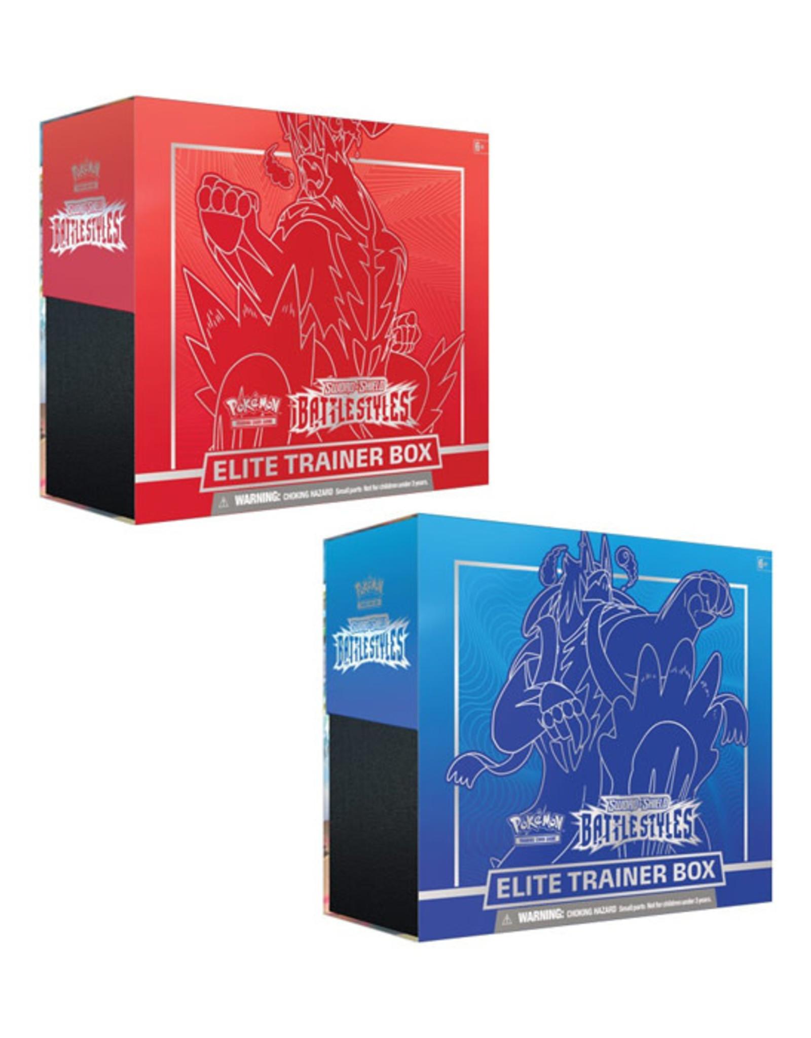 Pokemon Pokemon: Sword & Shield 5 - Battle Styles - Elite Trainer Box