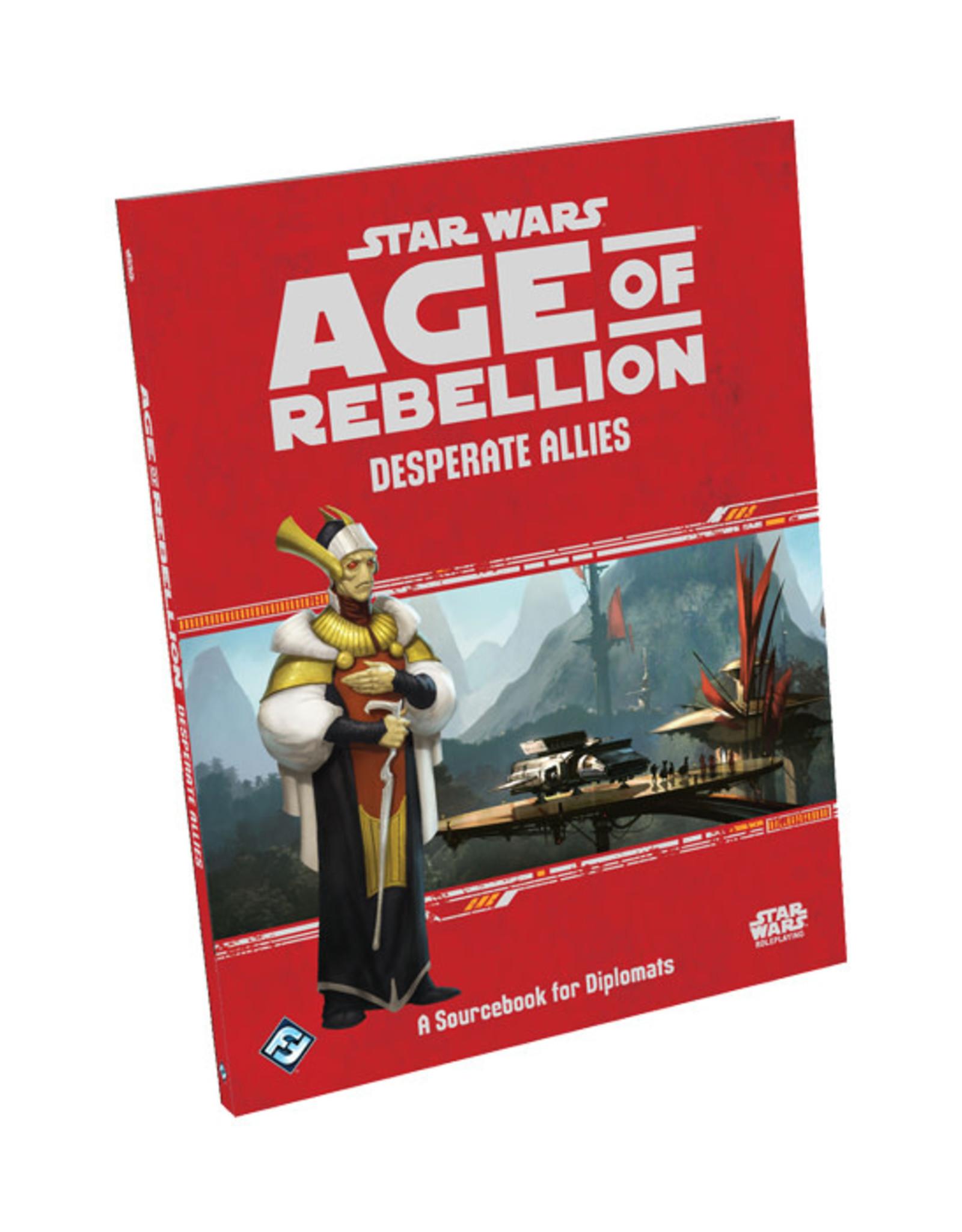 Fantasy Flight Games Star Wars: Age of Rebellion - Desperate Allies
