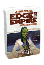 Fantasy Flight Games Star Wars: Edge of the Empire - Specialization Deck - Smuggler Gambler