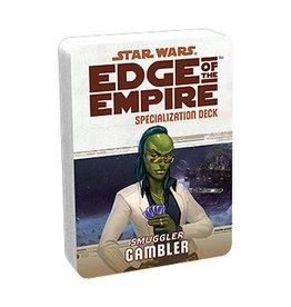 Fantasy Flight Games Star Wars: Edge of the Empire - Specialization Deck - Smuggler Gambler