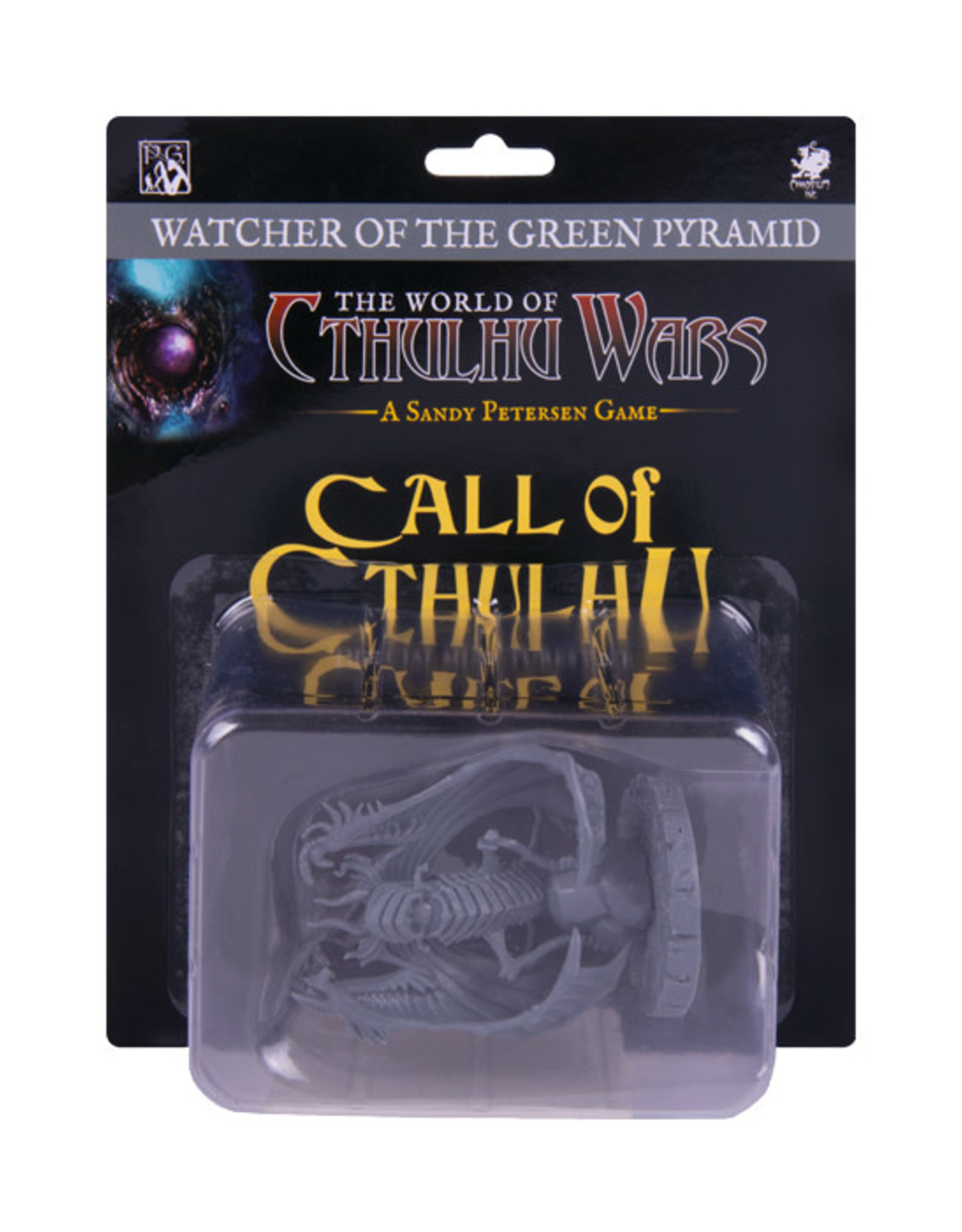 Call of Cthulhu: Miniature - Watcher of the Green Pyramid