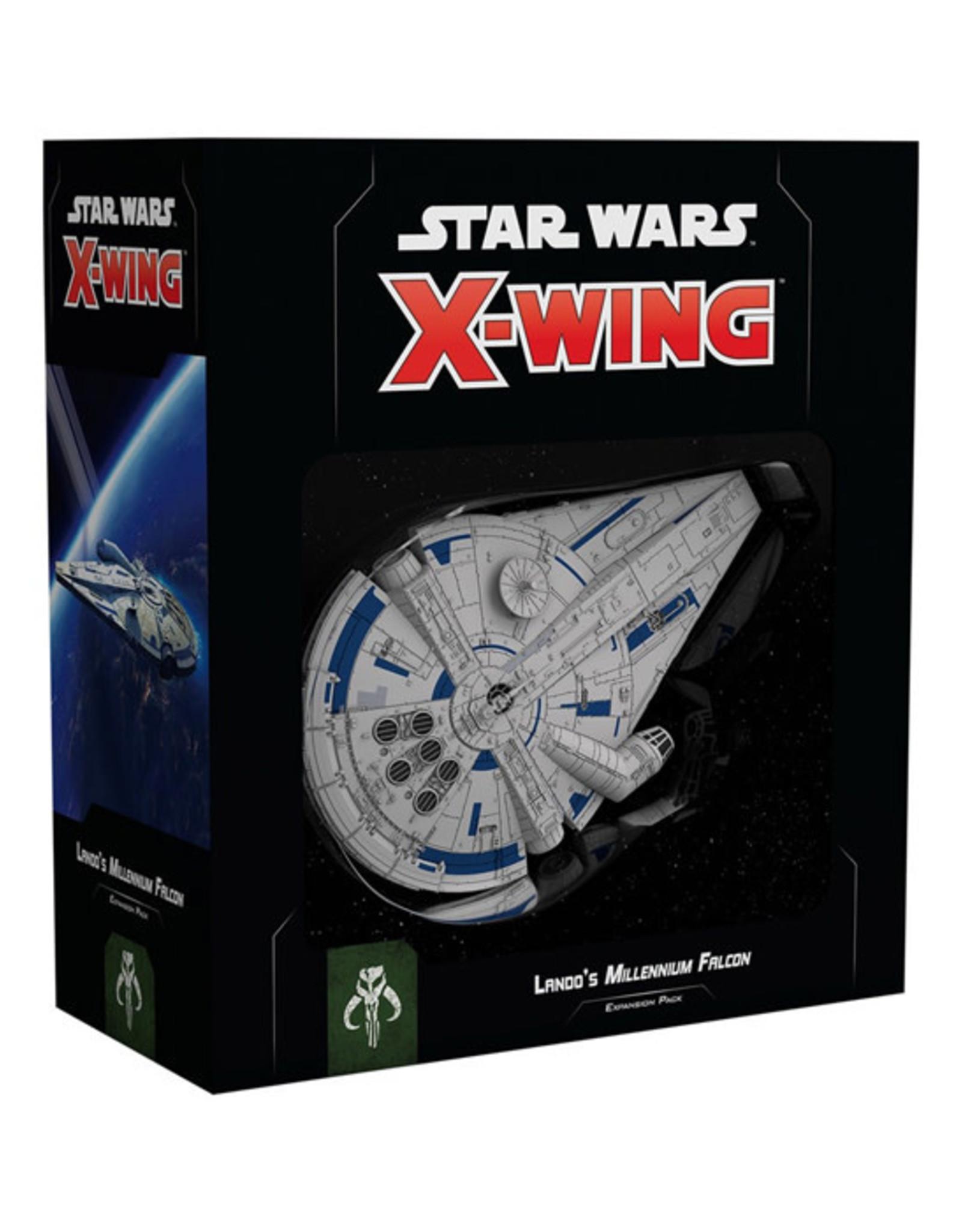 Fantasy Flight Games Star Wars: X-Wing - 2nd Edition - Lando's Millennium Falcon