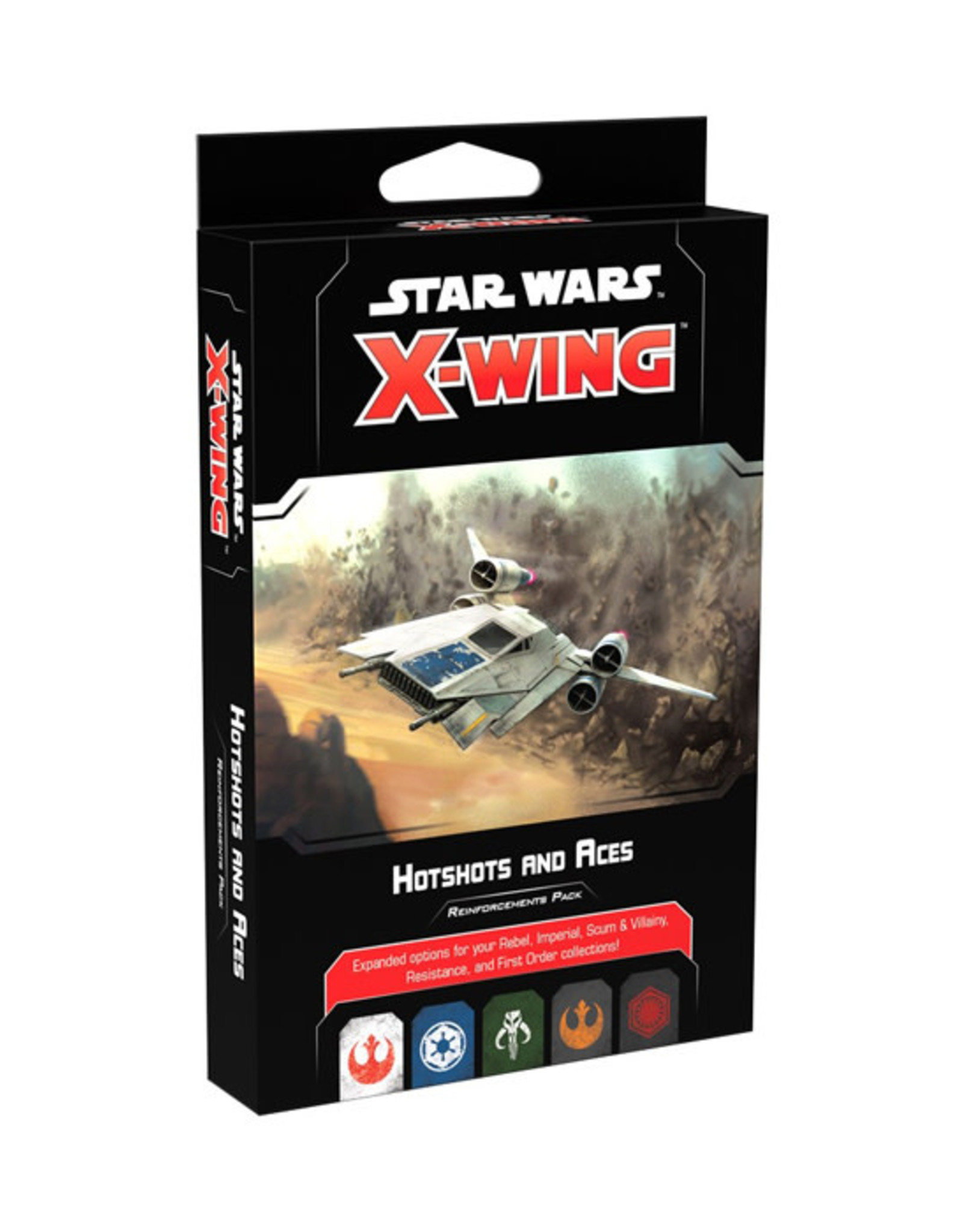 Fantasy Flight Games Star Wars: X-Wing - 2nd Edition - Hotshots and Aces Reinforcements Pack