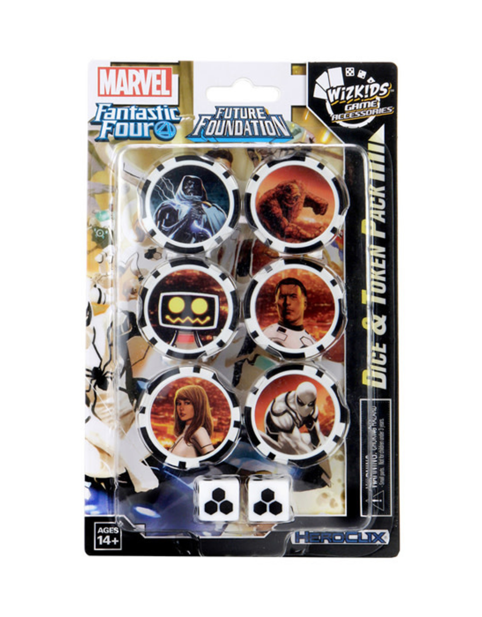 HeroClix HeroClix: Fantastic Four - Future Foundation - Dice & Token Pack