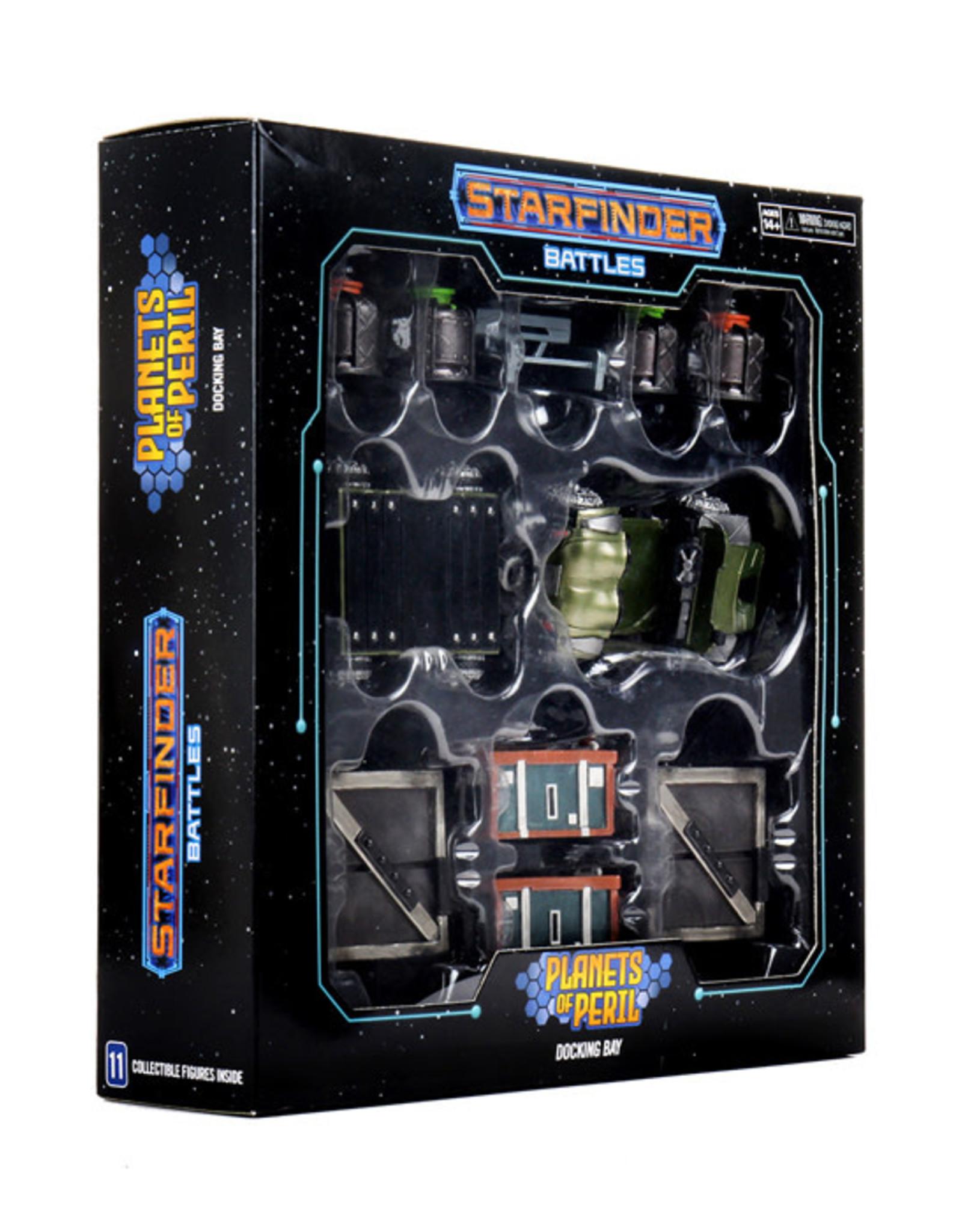 Starfinder Starfinder Battles: Planets of Peril - Docking Bay Premium Set