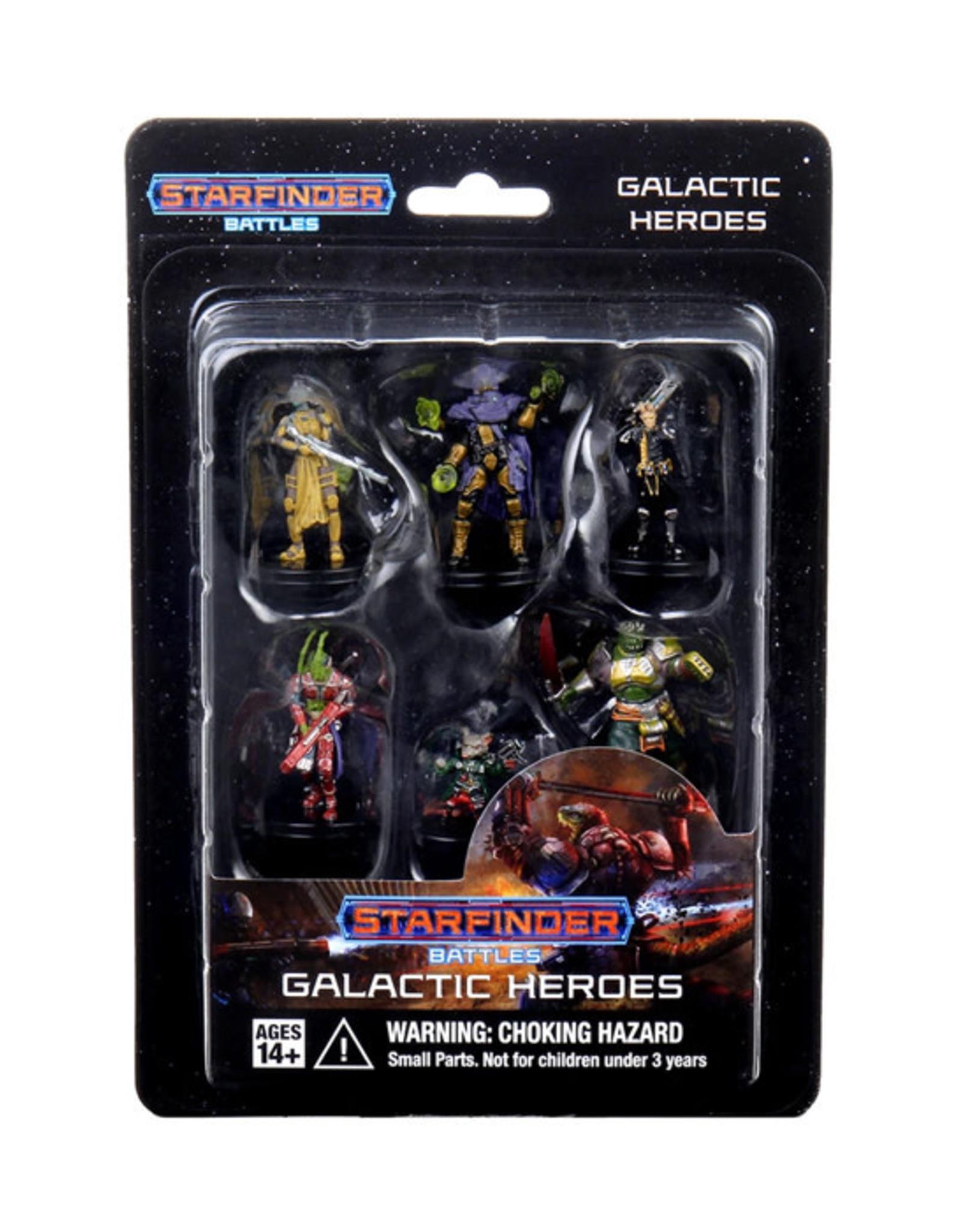 Starfinder Starfinder Battles: Starter Pack - Galactic Heroes