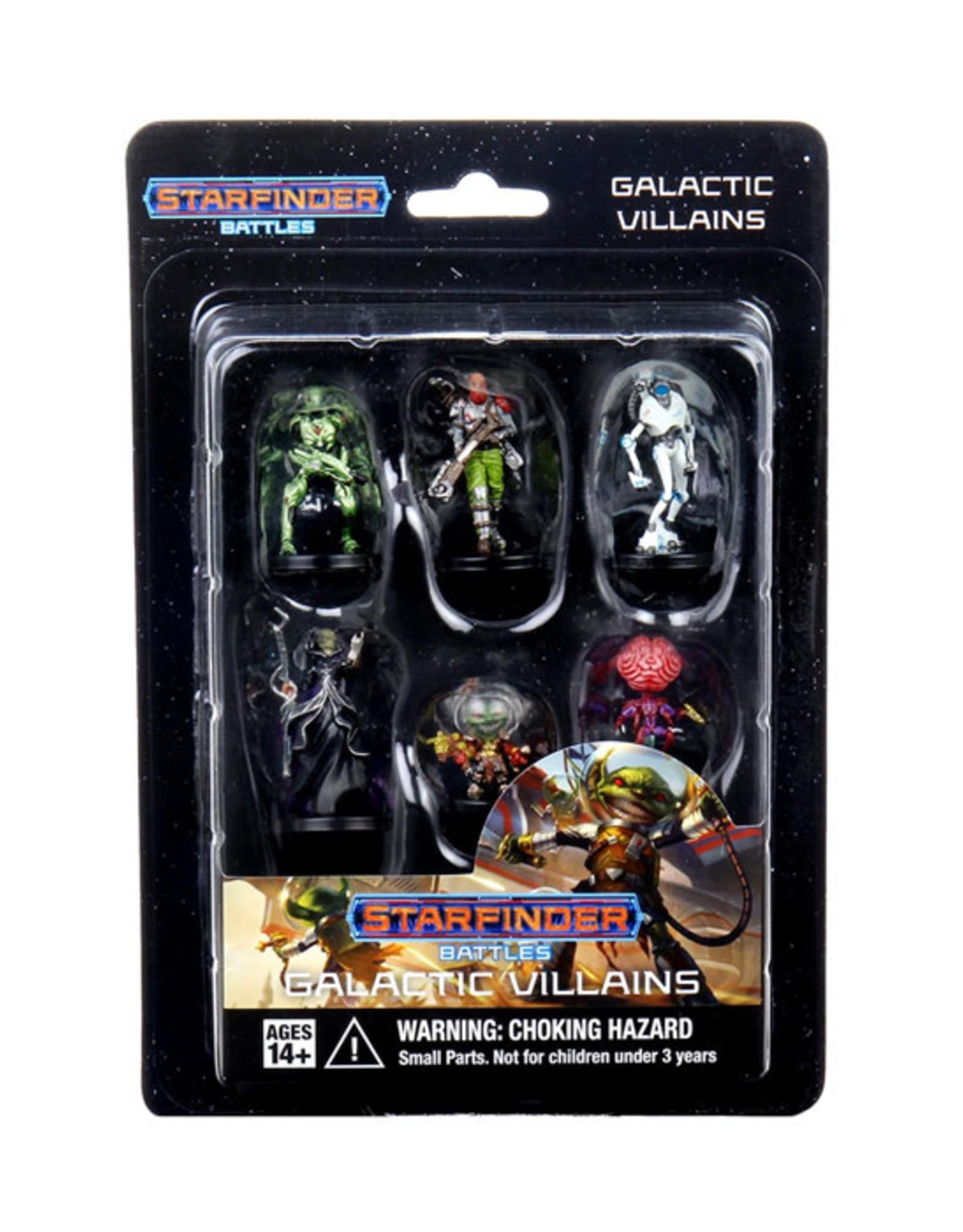 Starfinder Starfinder Battles: Starter Pack - Galactic Villains