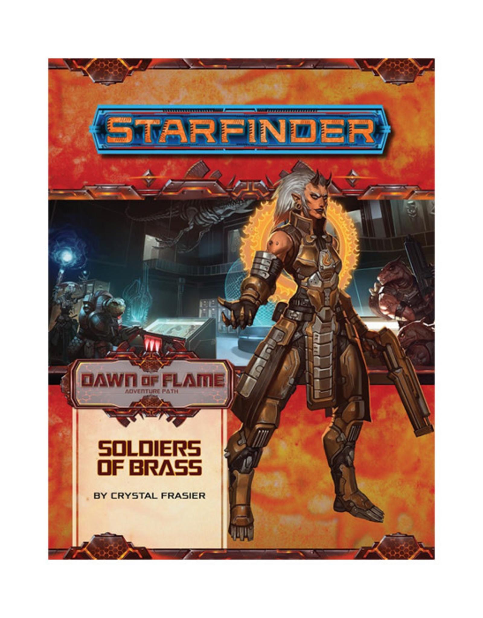 Starfinder Starfinder: Adventure Path - Dawn of Flame - Soldiers of Brass