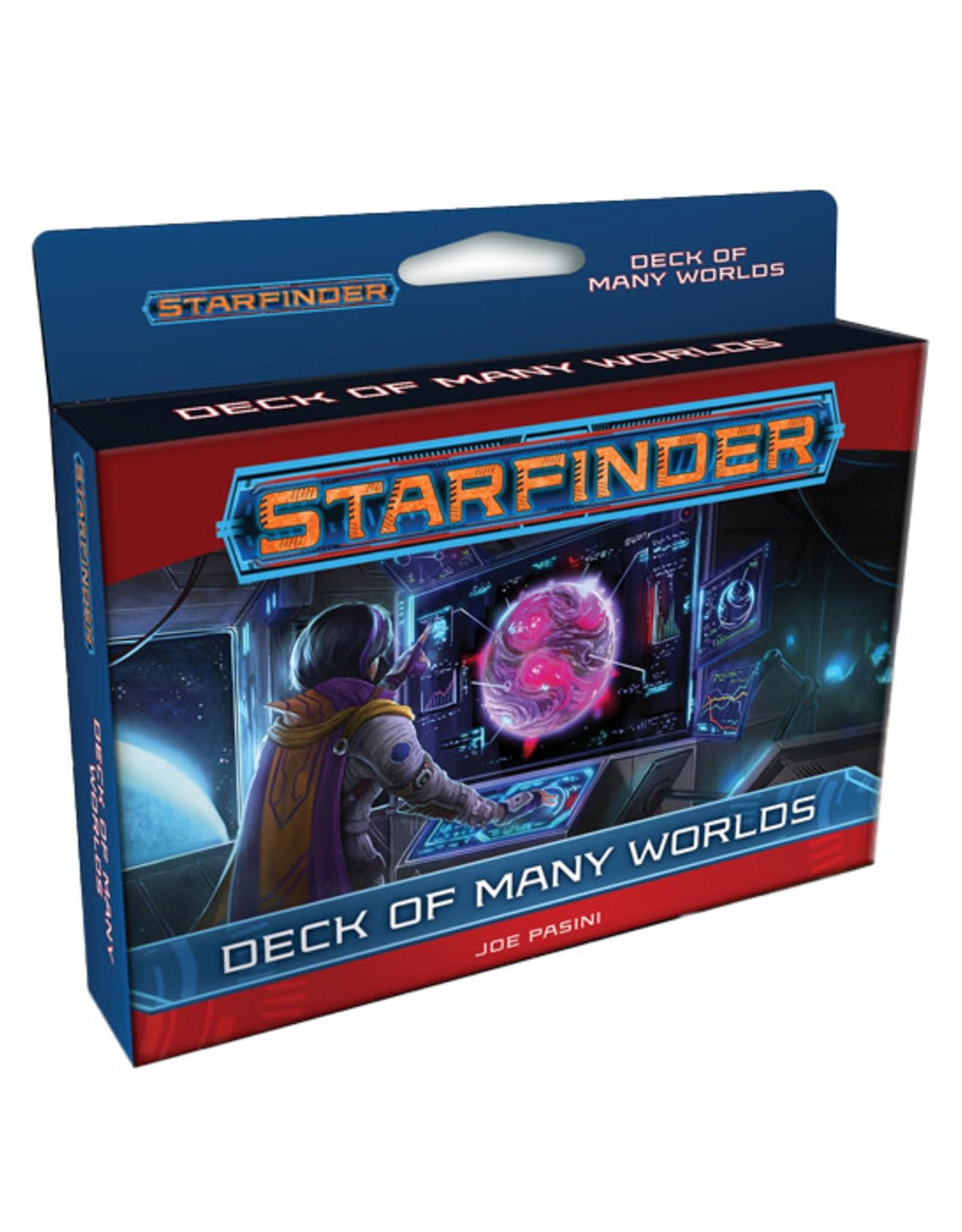 Starfinder Starfinder: Deck of Many Worlds