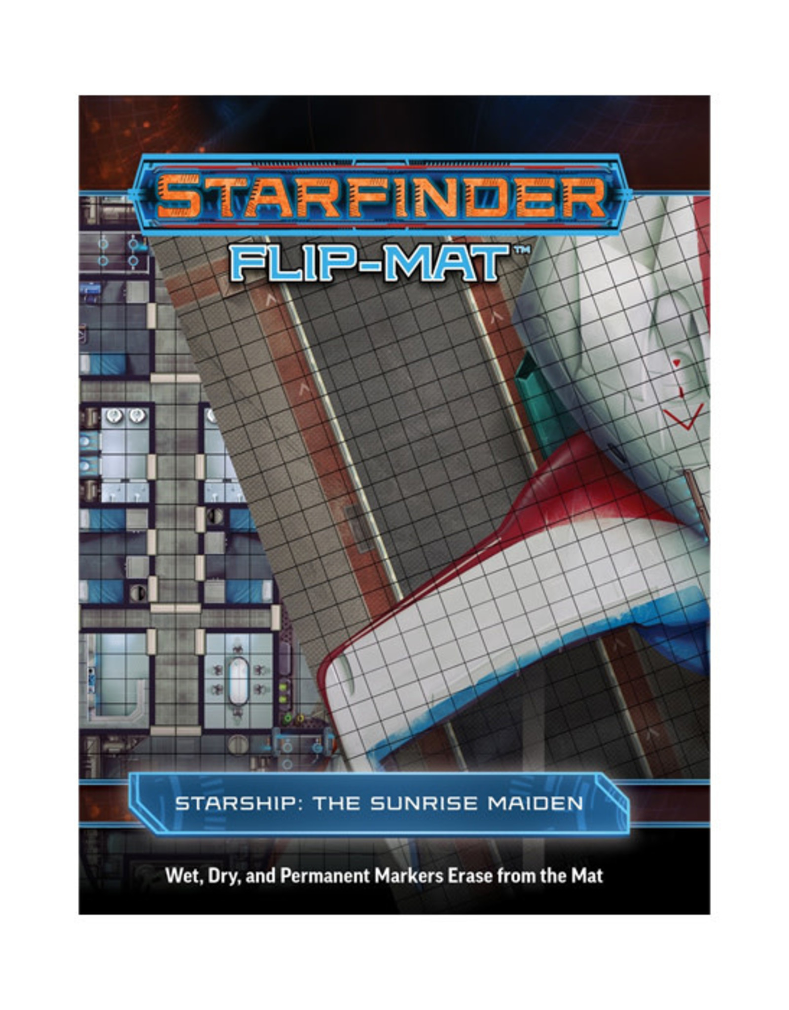 Starfinder Starfinder: Flip-Mat - Starship: The Sunrise Maiden