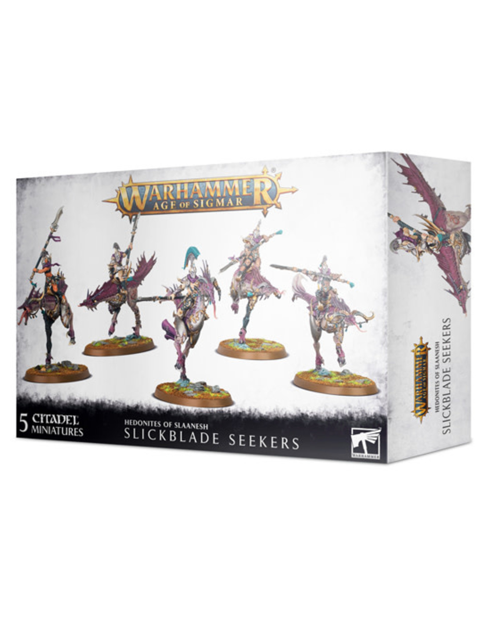 Games Workshop Warhammer: Age of Sigmar - Hedonites of Slaanesh - Slickblade Seekers