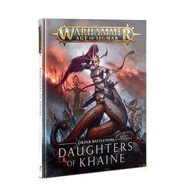 Games Workshop Warhammer: Age of Sigmar - Order Battletome - Daughters of Khaine (Hardcover)
