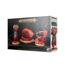 Games Workshop Warhammer: Age of Sigmar - Daughters of Khaine - Endless Spells