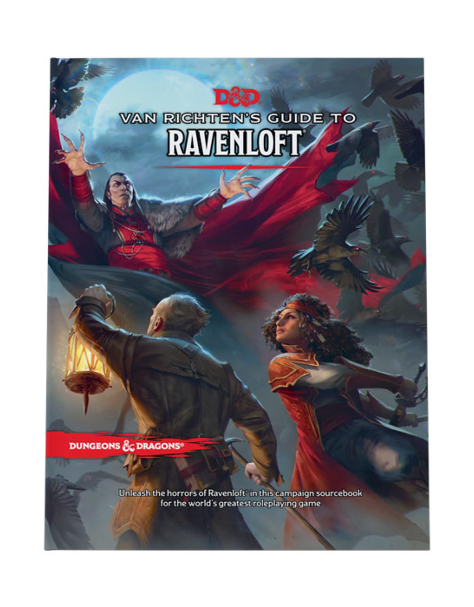 Dungeons & Dragons Dungeons & Dragons: 5th Edition - Van Richten's Guide to Ravenloft