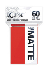 Ultra Pro Ultra Pro: Sleeves - Small - Eclipse - Matte - Apple Red