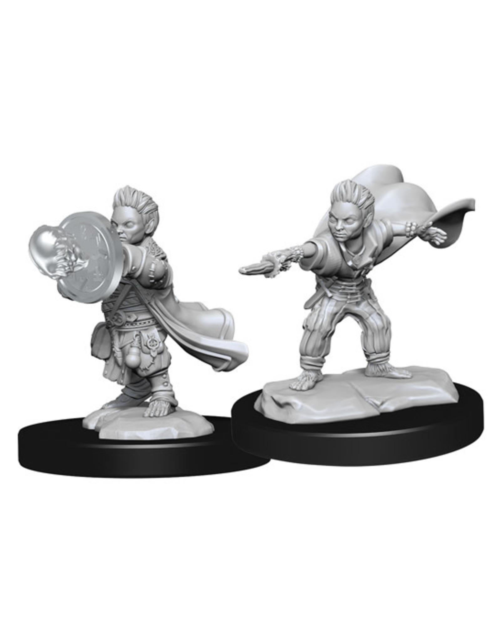 Pathfinder Pathfinder Battles: Deep Cuts - Halfling Male Wizard