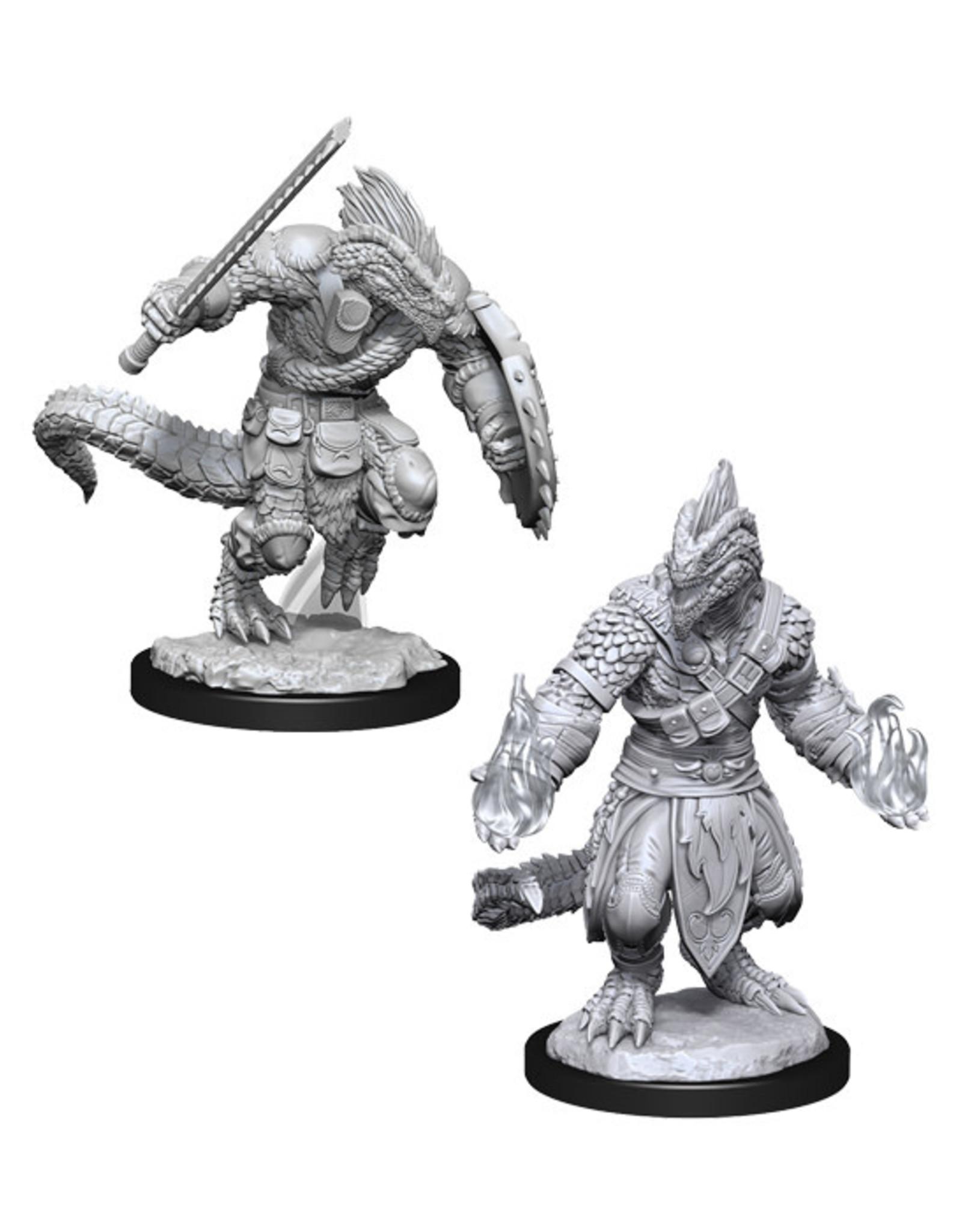 Dungeons & Dragons Dungeons & Dragons: Nolzur's - Lizardfolk Barbarian & Lizardfolk Cleric