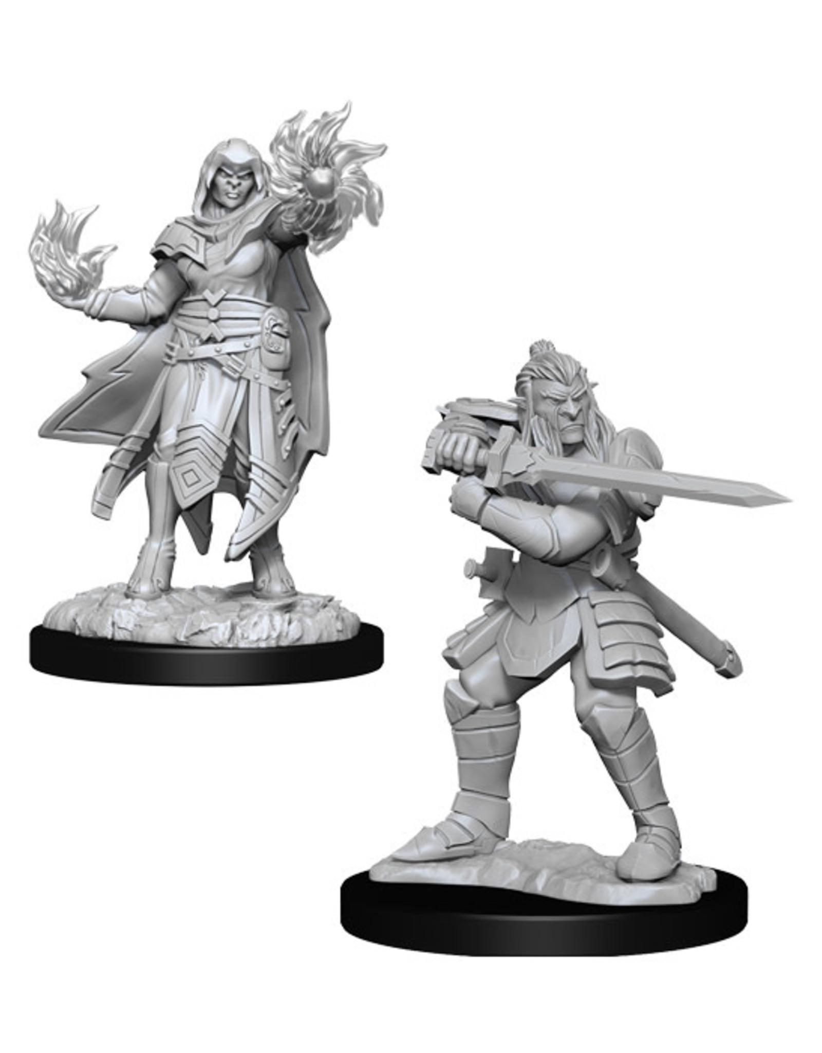 Dungeons & Dragons Dungeons & Dragons: Nolzur's - Hobgoblin Male Fighter & Hobgoblin Female Wizard