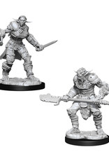 Dungeons & Dragons Dungeons & Dragons: Nolzur's - Bugbear Male Barbarian & Bugbear Female Rogue