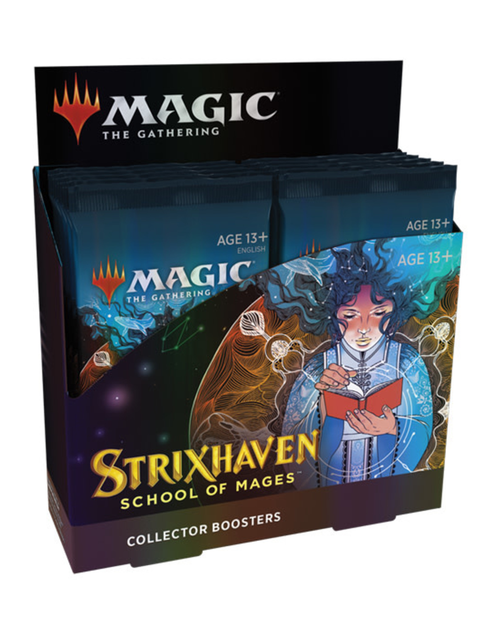 Magic: The Gathering Magic: The Gathering - Strixhaven - Collector Booster Box