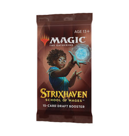 Magic: The Gathering Magic: The Gathering - Strixhaven - Draft Booster Pack