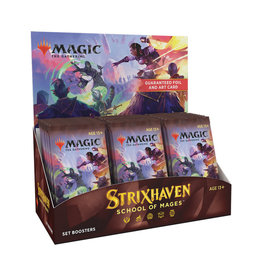 Magic: The Gathering Magic: The Gathering - Strixhaven - Set Booster Box
