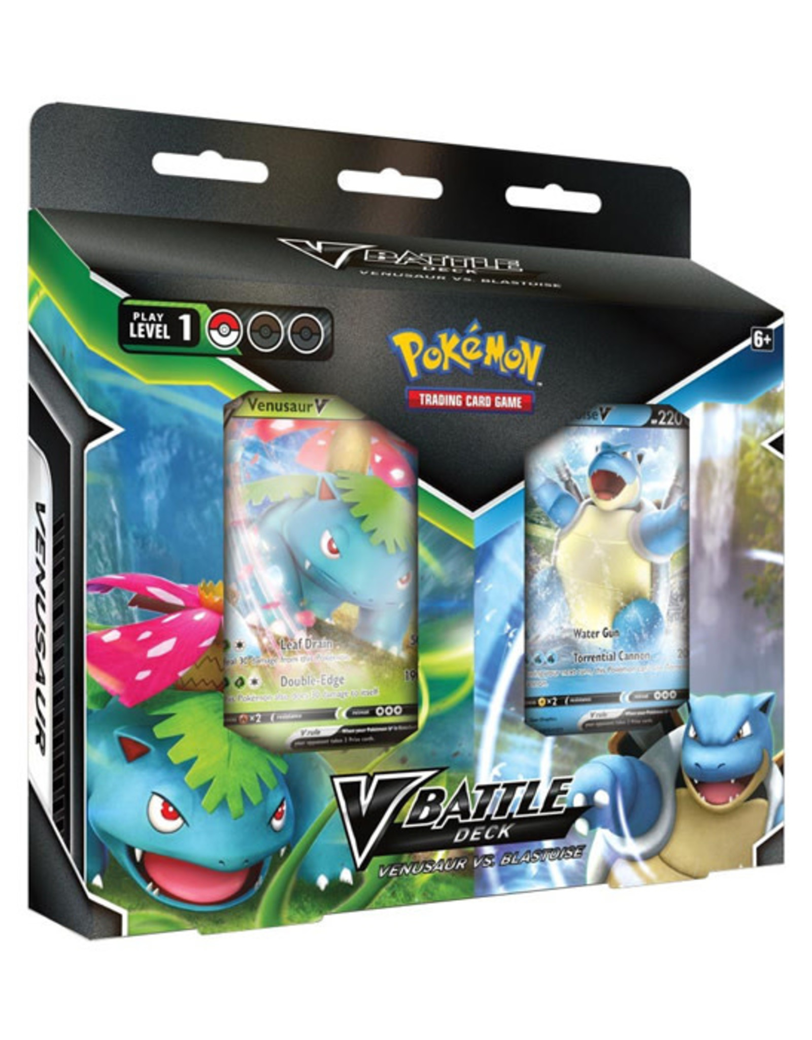 Pokemon Pokemon: V Battle Deck - Venusaur vs Blastoise