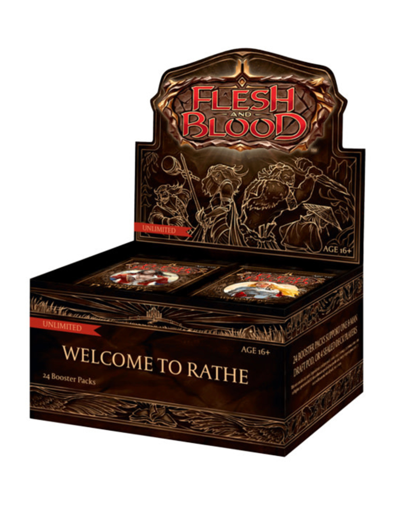 Flesh and Blood Flesh and Blood TCG: Welcome to Rathe - Booster Box (Unlimited)
