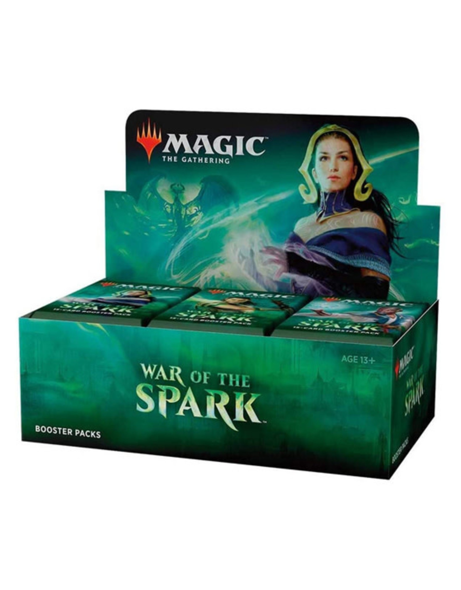 Magic: The Gathering Magic: The Gathering - War of the Spark - Booster Box