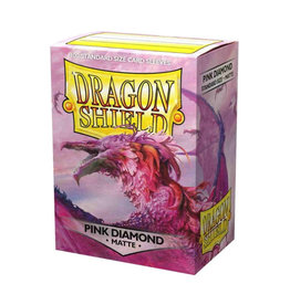 Dragon Shield Dragon Shield: Sleeves - Standard - Matte - Pink Diamond (100)