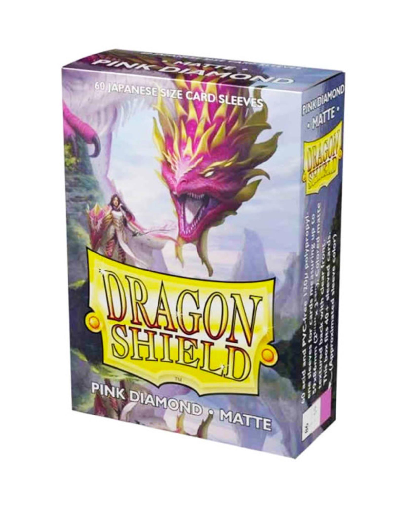 Dragon Shield Dragon Shield: Sleeves - Small - Matte - Pink Diamond (60)