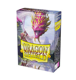 Dragon Shield Dragon Shield: Sleeves - Mini - Matte - Pink Diamond (60)