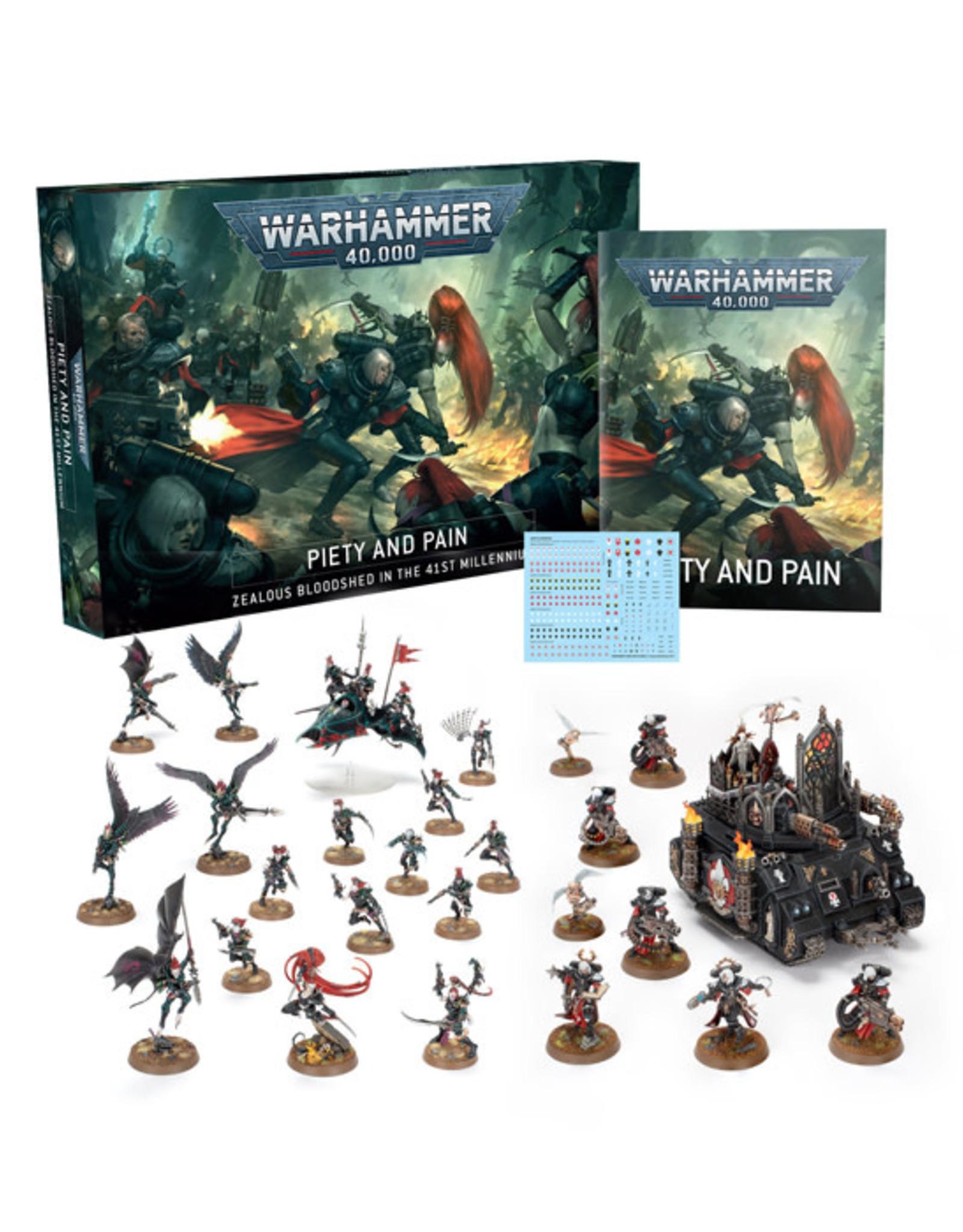 Games Workshop Warhammer 40K: Piety and Pain