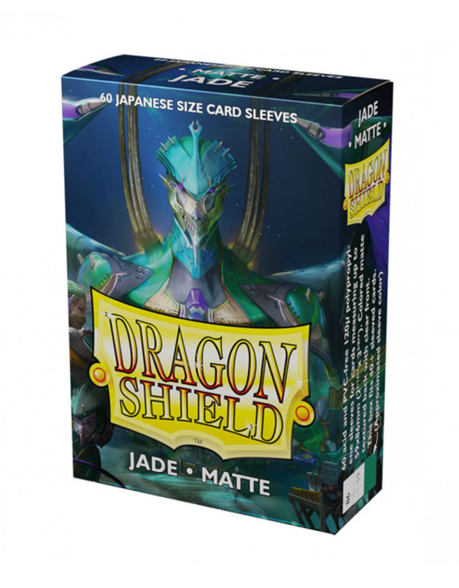 Dragon Shield Dragon Shield: Sleeves - Mini - Matte Jade (60)