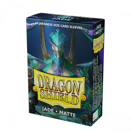 Dragon Shield Dragon Shield: Sleeves - Mini - Matte Jade (60)