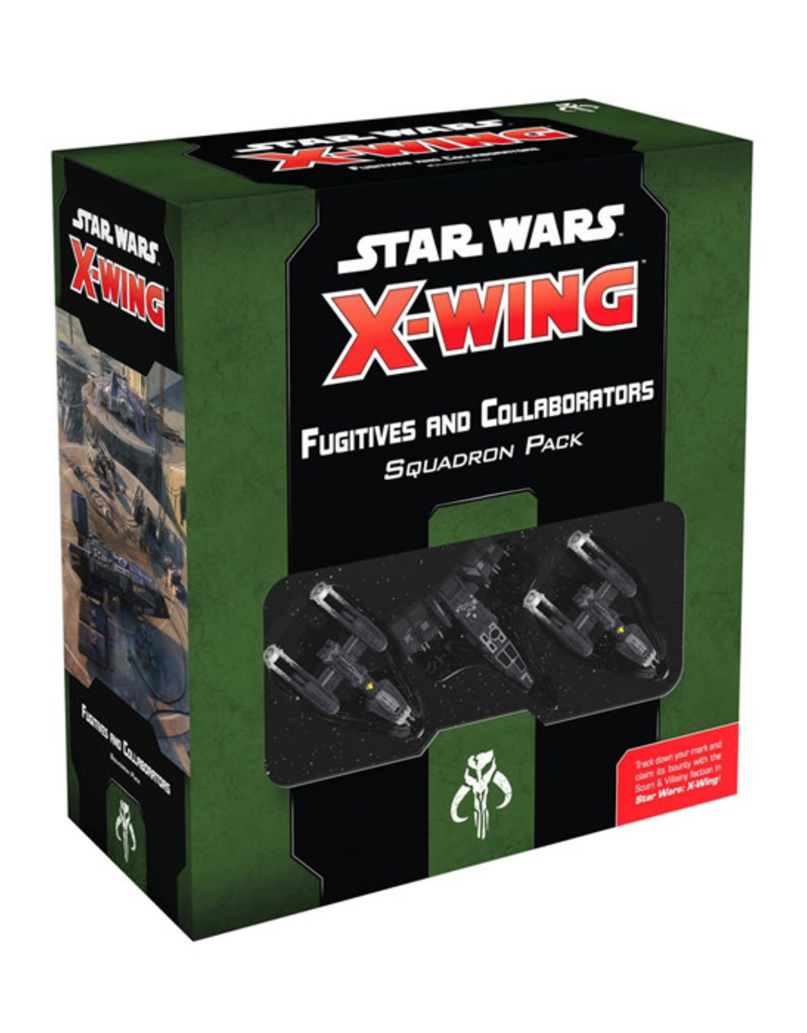 Fantasy Flight Games Star Wars: X-Wing - 2nd Edition - Fugitives and Collaborators