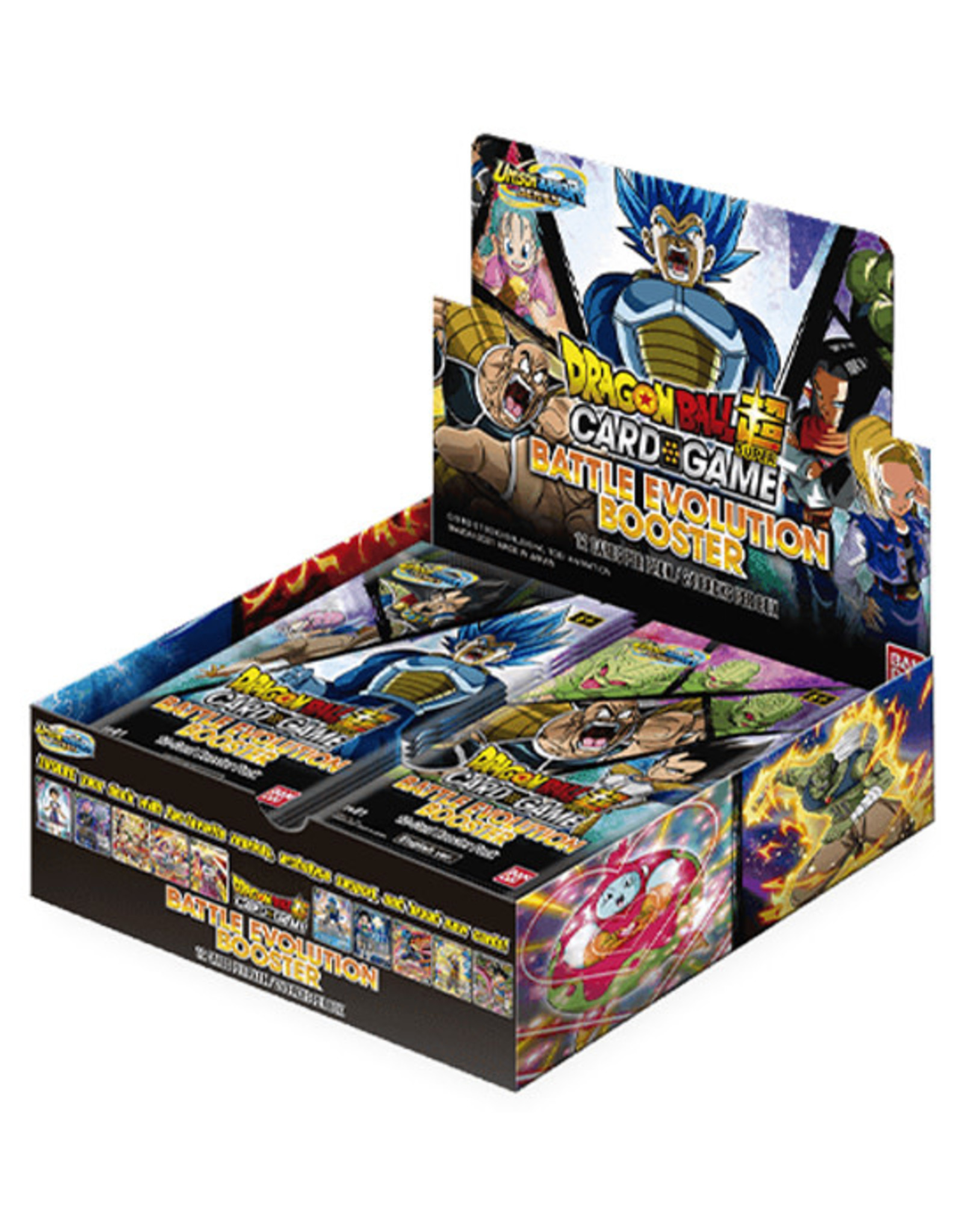 Bandai Dragon Ball Super: The Card Game - Battle Evolution - Booster Box