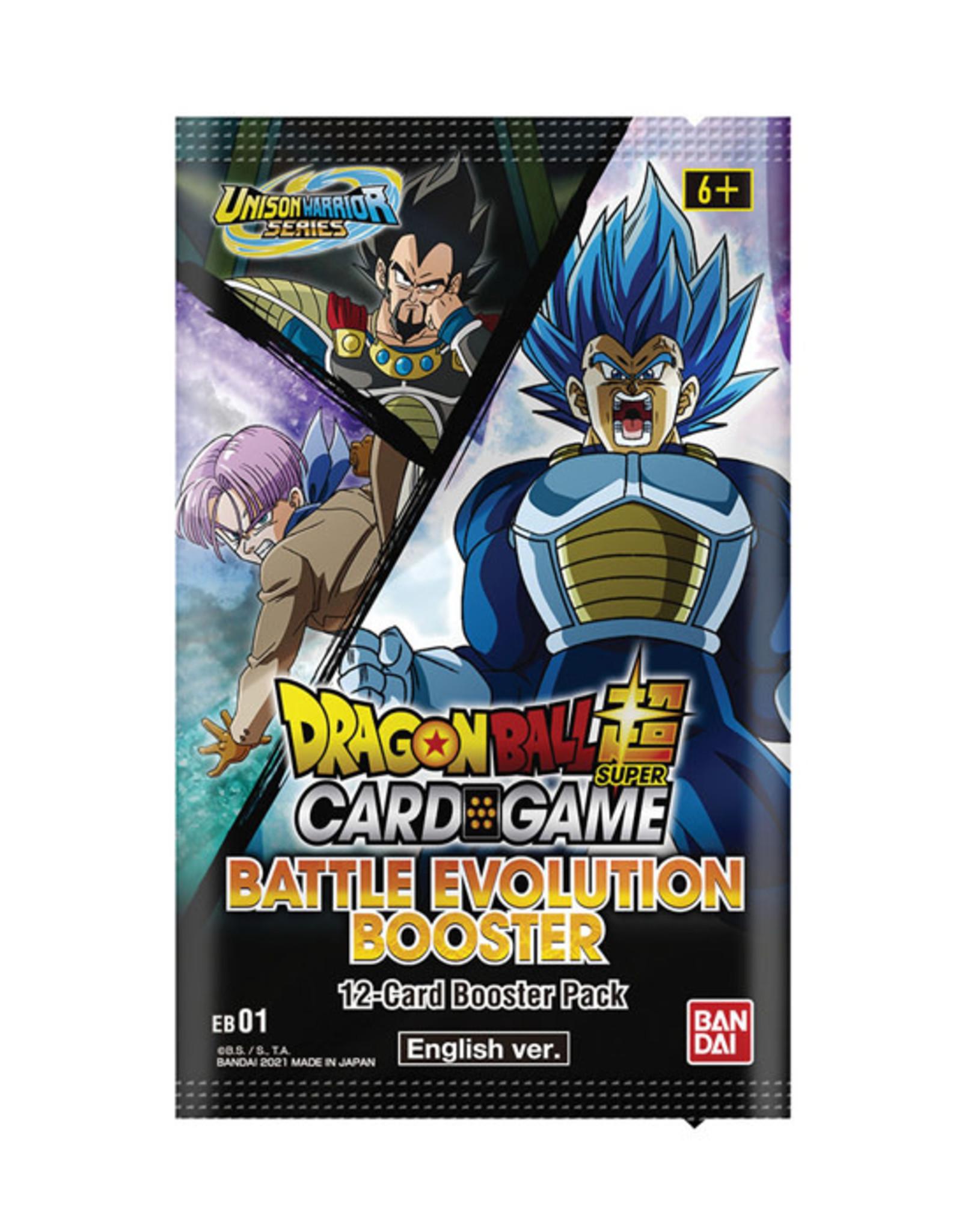 Bandai Dragon Ball Super: The Card Game - Battle Evolution - Booster Pack