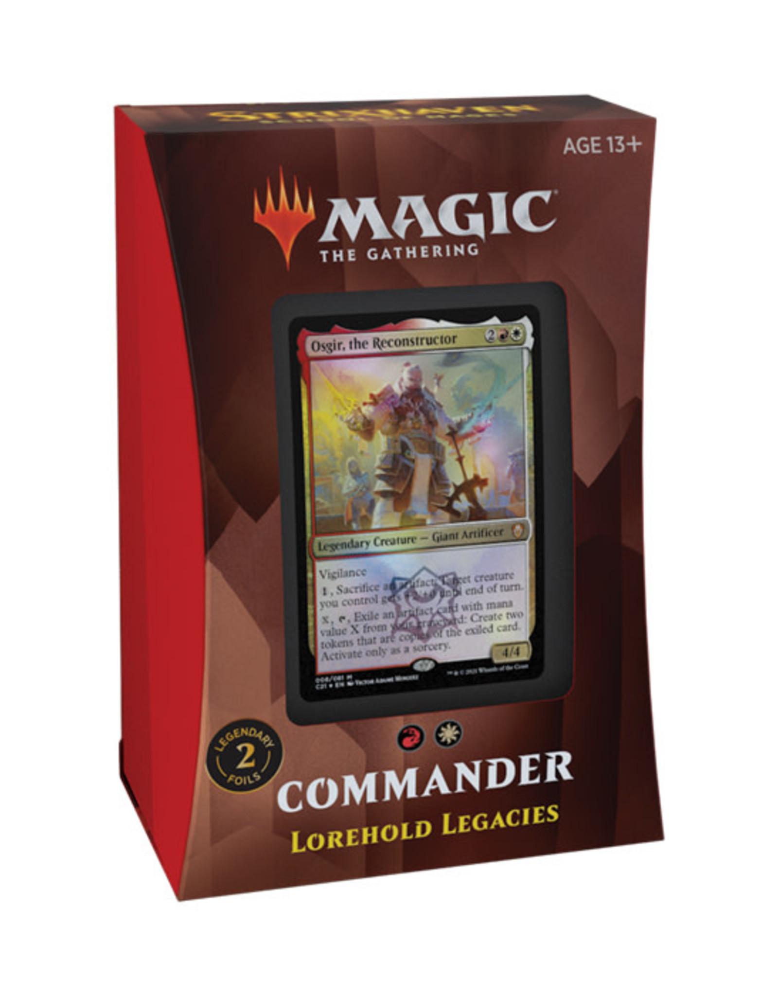 Magic: The Gathering Magic: The Gathering - Strixhaven - Commander Deck - Lorehold Legacies